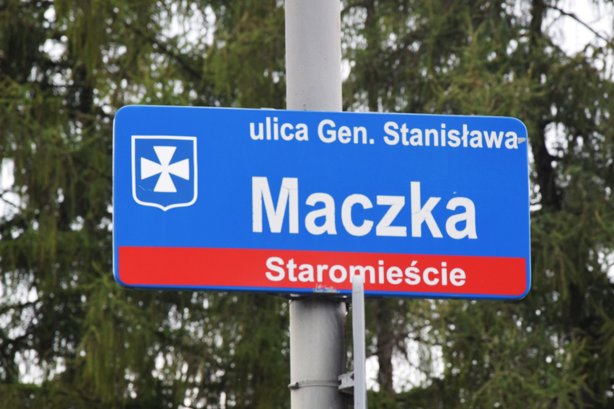 1. ulica gen. Stanisława Maczka
