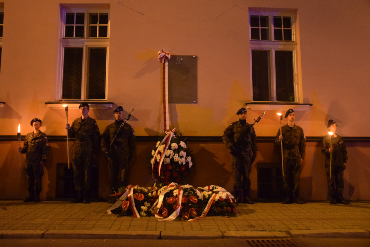 16. odsłonięcie tablicy gen. Stanisława Maczka w Rzeszowie